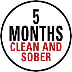 5_months_clean_sober_tee
